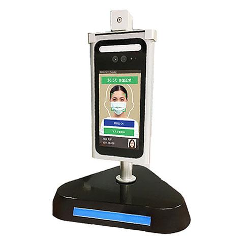 検温装置&顔認証システム
