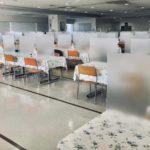 感染症対策助成事業としてパーテーション・温度センサー・エントランス工事等が助成されます