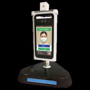顔認証+自動検温システム