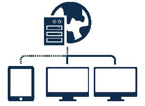 社内のサーバーをWeb化しデータを保管
